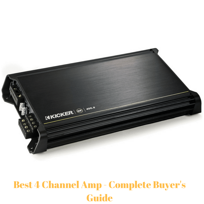 4 Channel Amp