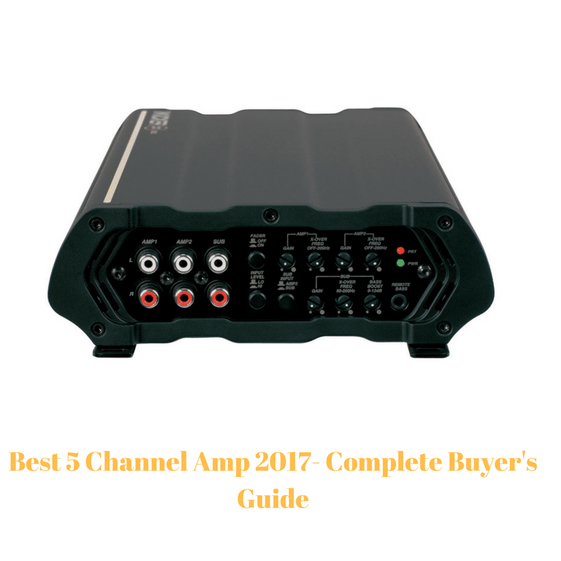 5 Channel Amp
