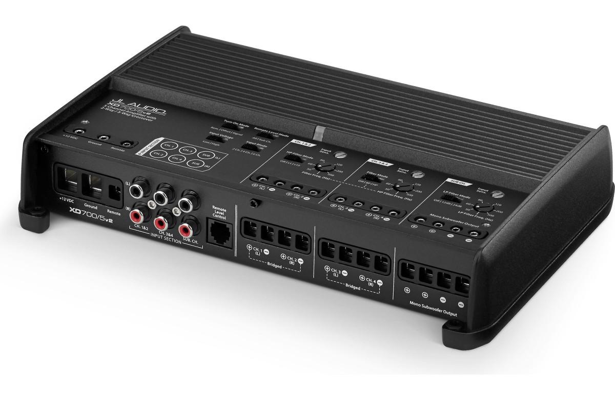 Jl audio 5 channel amp