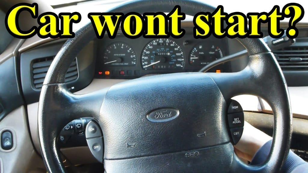 car won't start