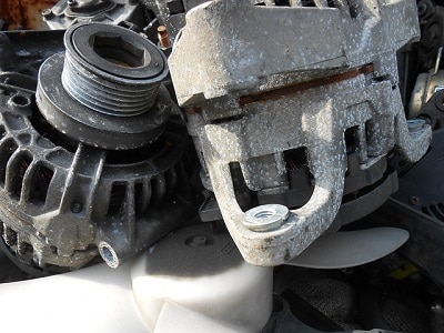 If the alternator is going bad, then it may not be converting as much energy to the battery