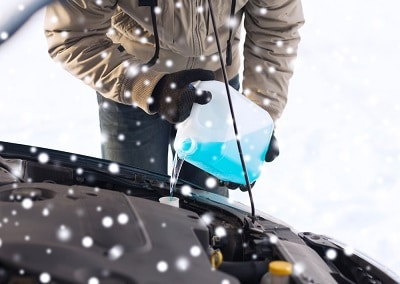 What to check when Frozen Windshield Washer Fluid