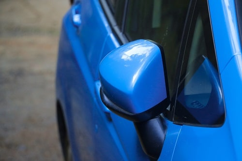 How to reset power folding mirrors