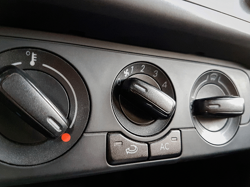 Dodge Ram heater control problems